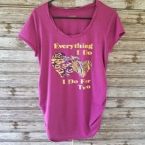 Motherhood Maternity Graphic Tee Size L